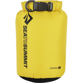 Sea to Summit Lightweight 70D Dry Sack 2L bottle, yellow